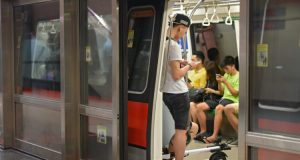 πατίνια μετρό