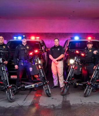 ηλεκτρικό τρίκυκλο αστυνομία πατίνι
