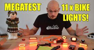 φώτα LED για ποδήλατο πατίνι