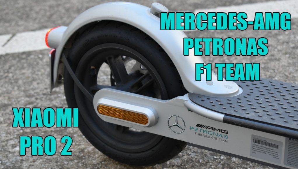 Xiaomi Mi Scooter Pro 2 Mercedes-AMG Petronas F1 Team